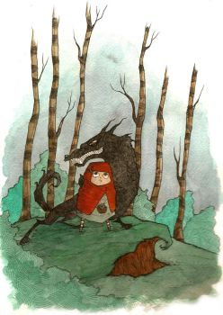 Little Red Riding Hood by NicholasAx