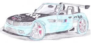 Hope's BMW Z4 Convertible by CarlostheBat36