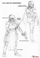 Assassin agent, first concept by Stormcrow135