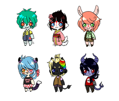 Cheeb Point Adopts - [CLOSED] by FreckleLemonade