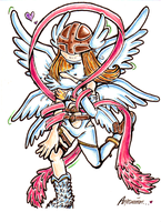 Color Angewomon by zekk