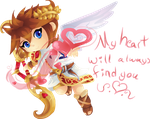 Angel Bow Valentine by Lady-of-Link
