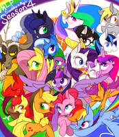 My Little Pony Friendship is Magic Season4 by 30clock