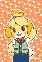 Isabelle at your service! by hazardbunny