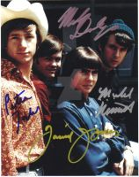 The Monkees signed photo by sgatlantisfan11