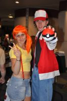 Misty and Ash by UberAEst92