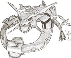 Rayquaza by Superspaud