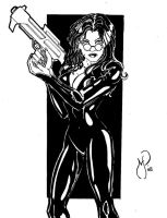 The Baroness by MichaelPowellArt