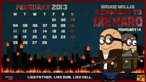 February: A Good Day To Die Hard by GTR26