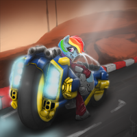 [COMMISSION] XGRA: Ultrasonic Rainbow by White-Pwny