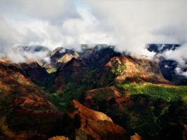 Waimea Canyon by TFuruhashii