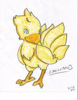 OMG, A CHOCOBO by peroro