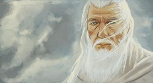 Gandalf sketch by M-Whistler