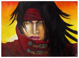 Vincent Valentine Portrait by EverIris