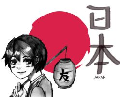 Hetalia: Japan with a Lantern by ExclusivelyHetalia