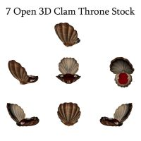 Clam Thrrone Stock by Kiku-Stock