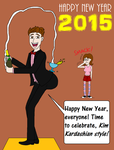Happy New Year 2015! by LUVKitty13