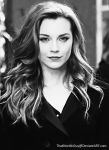 Natalie Dormer / Emma Watson [Black and White] by ThatNordicGuy
