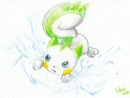 .Lio the Pachirisu. by Ishisu