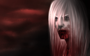 TORN FROM BONE, DRIPPING CRIMSON RED by KinkyPokemon