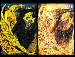 Ghostrider colors by michaeltoris