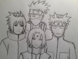 Team Kakashi by JainaNaberrie