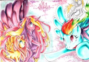 best flyers of all the Equestria by cvetdispersia