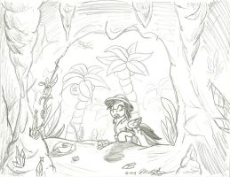 Daring Do and the Great Crystal Caverns by Scarecrow31