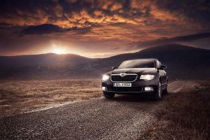Skoda Superb 2010 by Lunox-baik