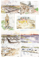 Watercolor sketchdump by Ombre-Lumineuse