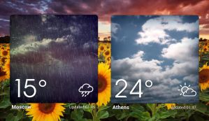 Magical Weather HD 4x3 for xwidget by jimking