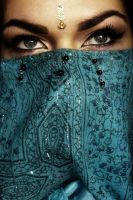 Arabian eyes 2 by Gayfruit