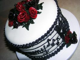Musical Cake by DancesWithWacom