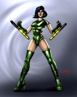 Orchid (Killer Instinct) by jameslink