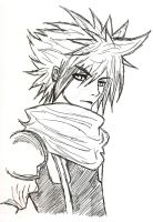 Cloud Strife by SaraBillyBob