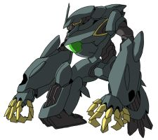 ovm-ww Wrozzo (mobile suit mode) by unoservix