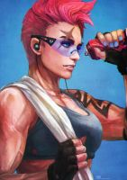 Casual Zarya by MonoriRogue