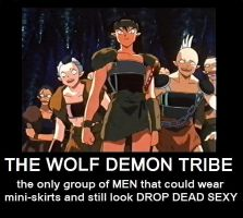 The Demon Wolf Tribe by naru0sasu1fan