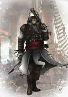 Assassins Creed IV:Black Flag- Edward Kenway by MatthewHogben