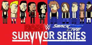 WWE Survivor Series 2016 poster by firehea
