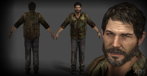 Joel The Last Of Us Download by XXMAUROXX