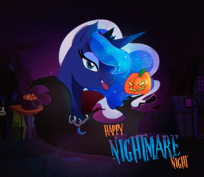 Luna nightmare night by Naomi-shan