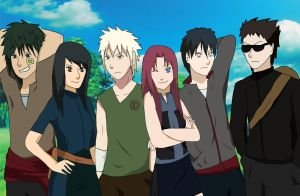 NARUTO NEXT GENERATION by CaiLiDeVeL