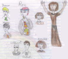 Very Potter Musical Doodles by TheMusesSong