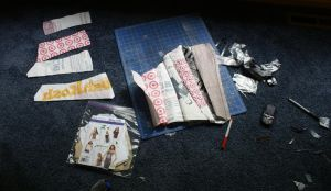 Upcycled Corset Making-of 4 by kbthreads