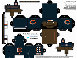 Charles Tillman Bears Cubee by etchings13