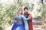 Princess Aurora and Prince Philip by FrancescaMisa