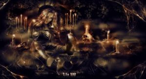 eternally yours  (eternal candle edition) by L-A-Addams-Art