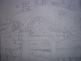 Bag End, Underhill, Hobbiton, The Shire by AreusBookworm