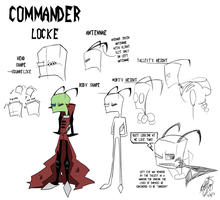 IZ: Commander Locke Study Sheet by CuddlesAndHuggles